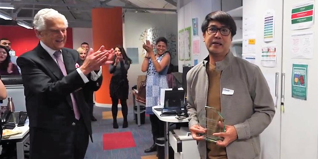 Librado wins the Jairo Medina Award 2019