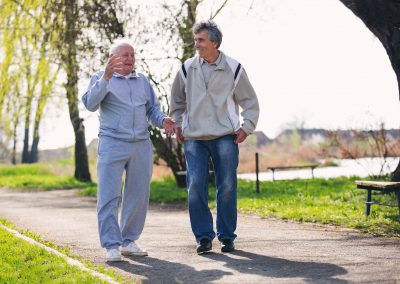 Keeping an Older Frail Person Safe